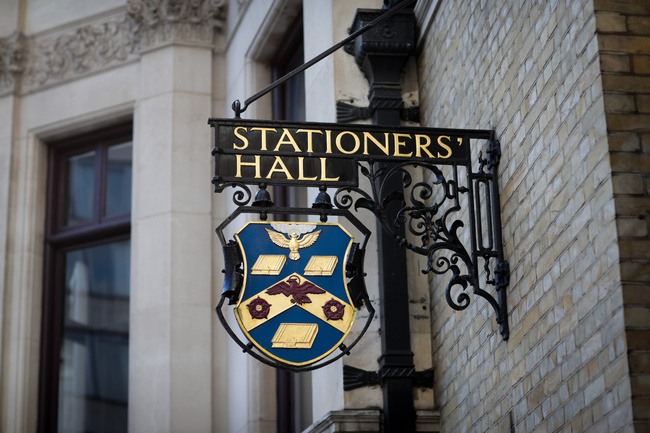 Stationers Hall crest