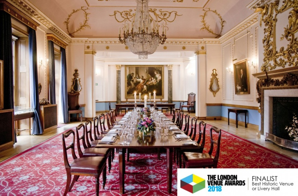 Stationers' Hall shortlisted for London Venue Awards