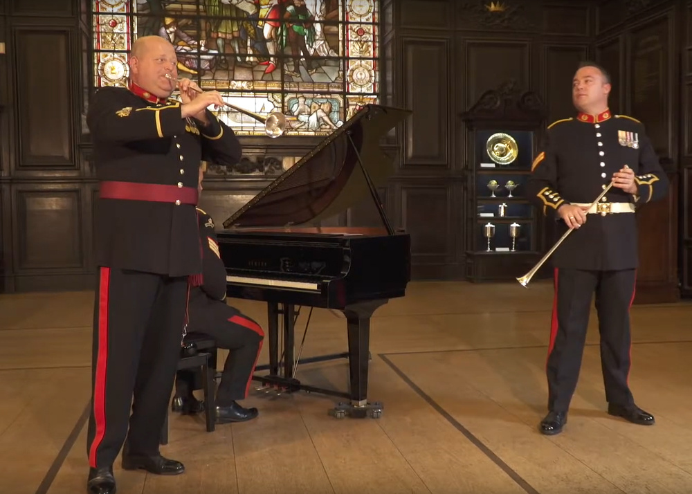 The Bands of HM Royal Marines at Stationers' Hall